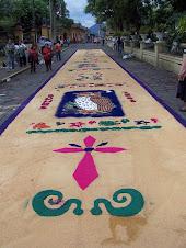 Festival Sidewalk Painting