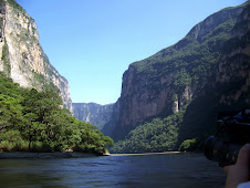 Sumidero Canyon from Launch