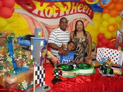 Família abençoada por Deus