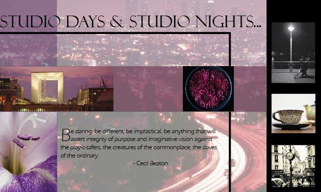 Studio Days & Studio Nights