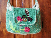 Afelted purse to keep your wishes in