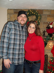 Christmas Day 2010. My Hubs and I.