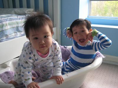 사랑하는 아이들 오랜만에 사진 (2009년4월사진)