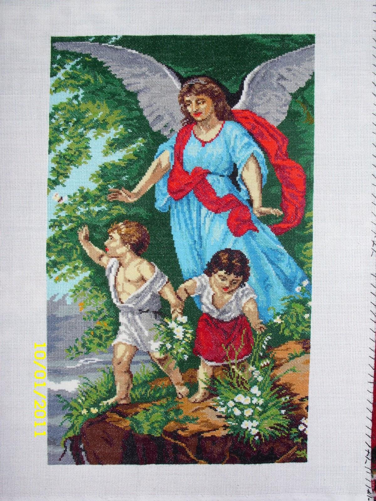 Розміри ангела охоронця 28 см на 45 см