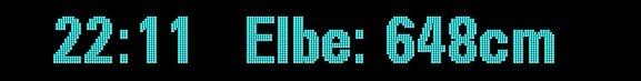 Screenshot der Pegelanzeige auf Soundbridge M1001