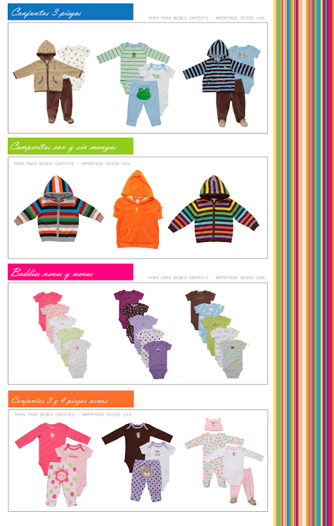 Diseños originales y exclusivos importados desde USA