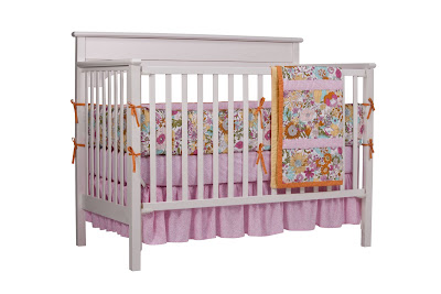 Floral Baby Bedding Set