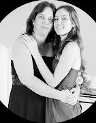 Eu e minha filha Beatriz.