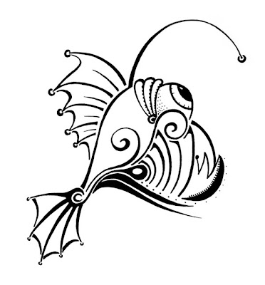 Angler Fish by Lani Mathis of GreenSpaceGoods