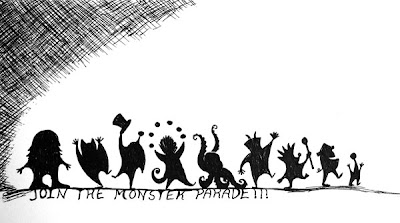 The Monster Parade by Lani Mathis of GreenSpaceGoods