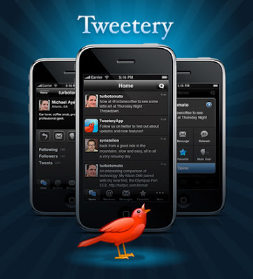 Tweetery iPhone application for Twitter