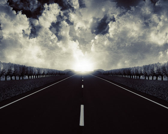 Stormy Road Out 1280x1024 TheAL