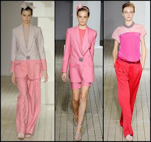 Colour blocking spring trend