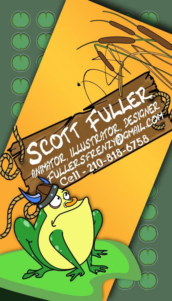 Scott Fuller's Business Card