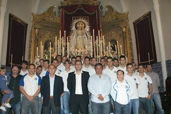 ofrenda virgen del rosario