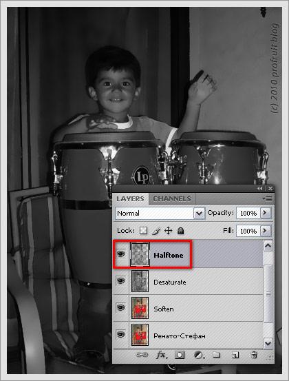 Comimcs Photoshop Efect
