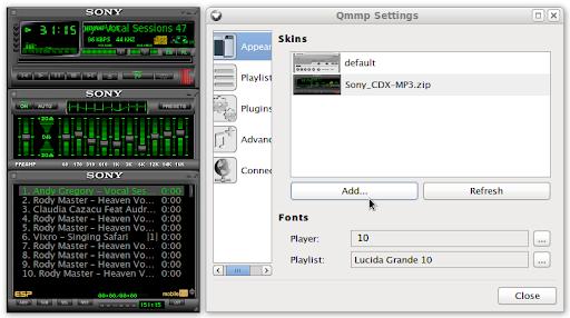 Qmmp аудио плейър