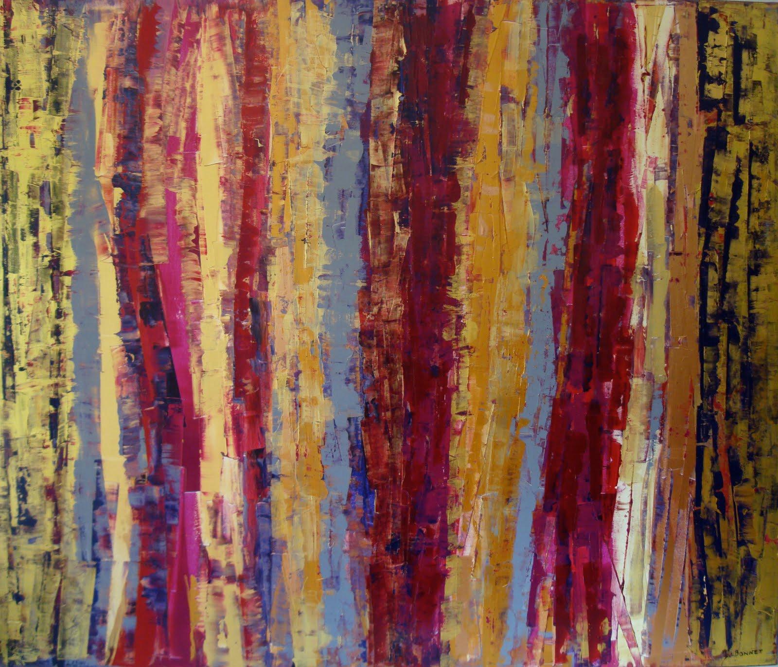 Isabelle bonnet murray velours acrylique vernis sur toile 140x120cm 2010 - Vernis sur peinture acrylique ...