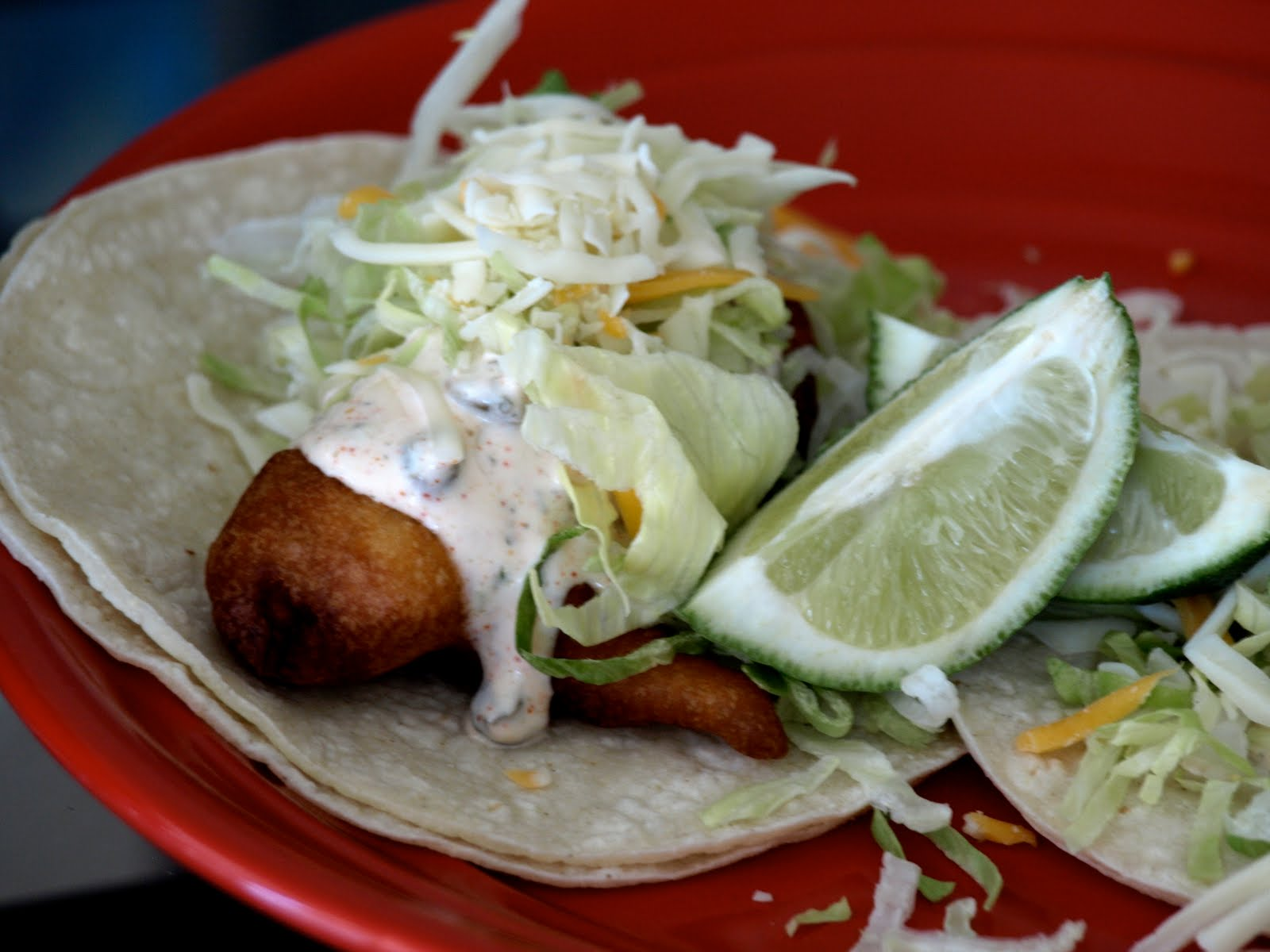Lua los angeles blue moon beer battered fish tacos for Fish taco batter