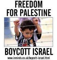 boicote produtos de Israel
