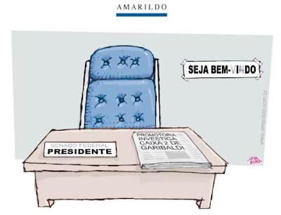 Charge do Amarildo, A Gazeta ES