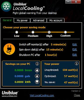 ScreenShoot LocalCooling