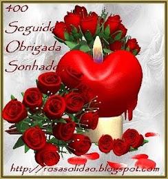 Selinhos dos 400 seguidores da amiga Sonhadora