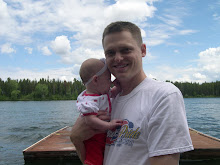 Hailey and Daddy at the lake
