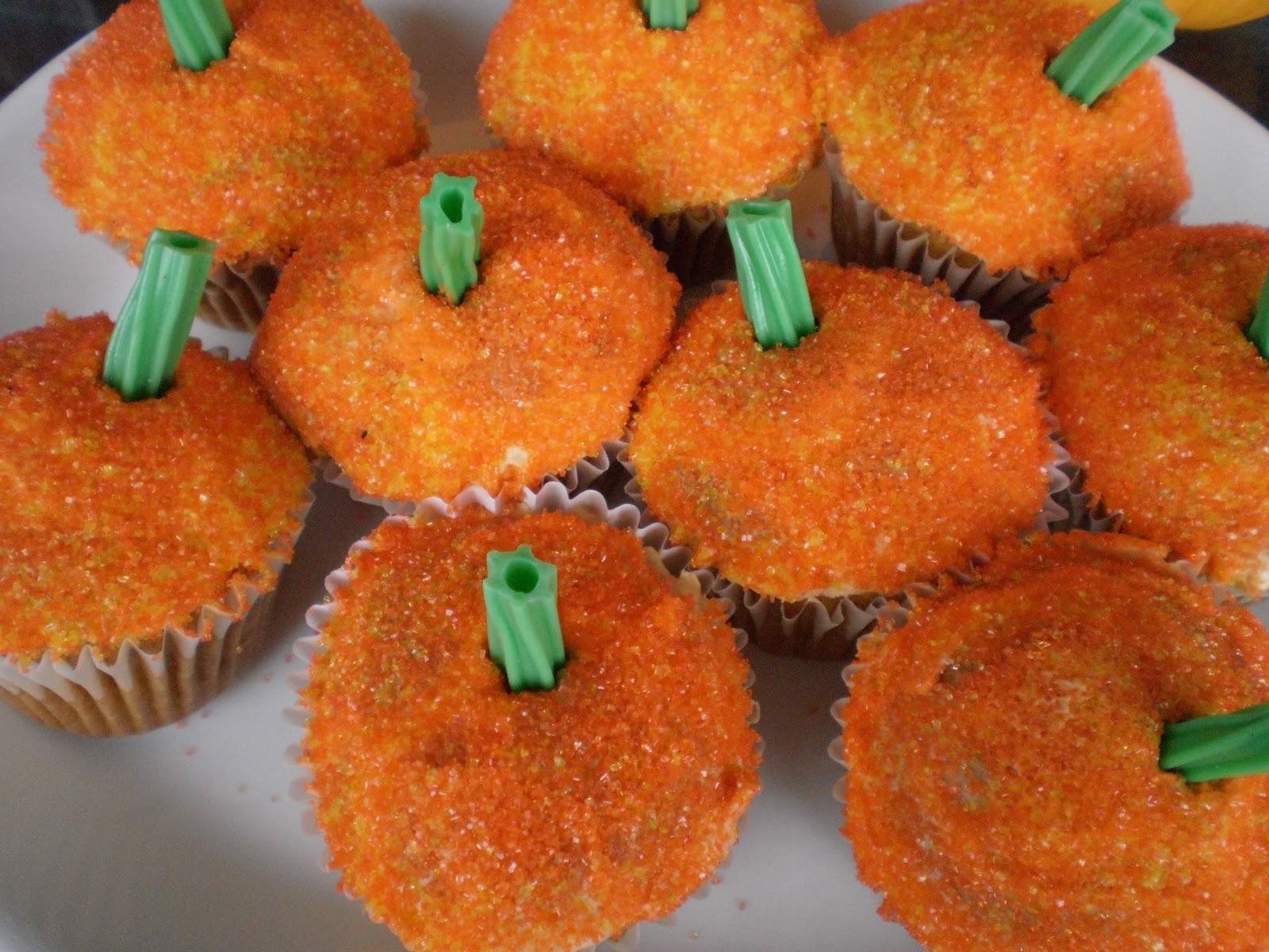 Until Wednesday Calls Cupcake Pumpkin Patch