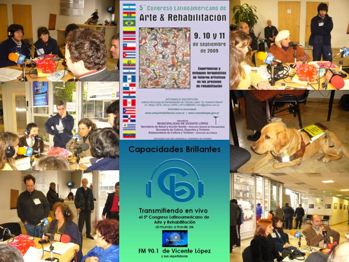 5 CONGRESO DE ARTE Y REHABILITACION EN ARGENTINA