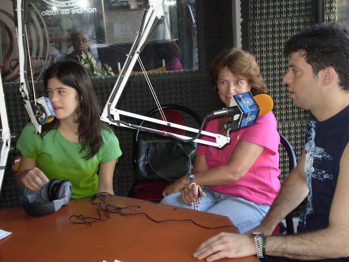 A veces viene Maru , María Ines al programa