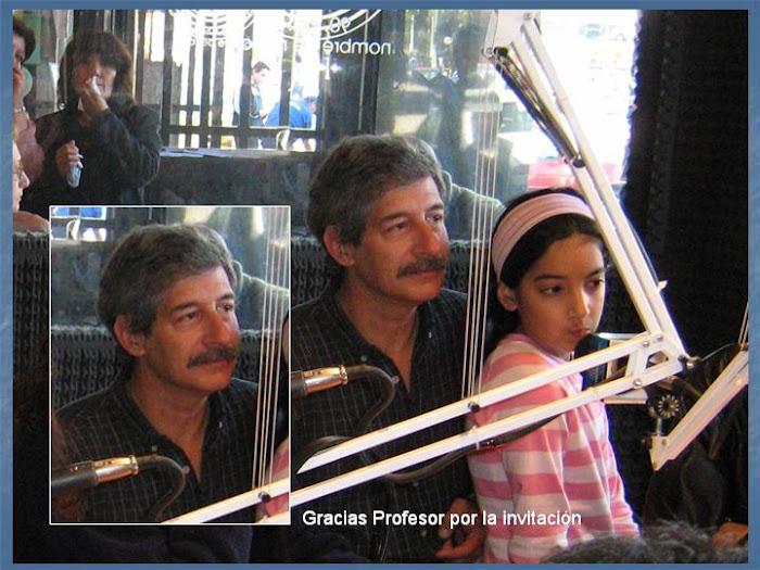 Profesor de arte Daniel Gerbiño