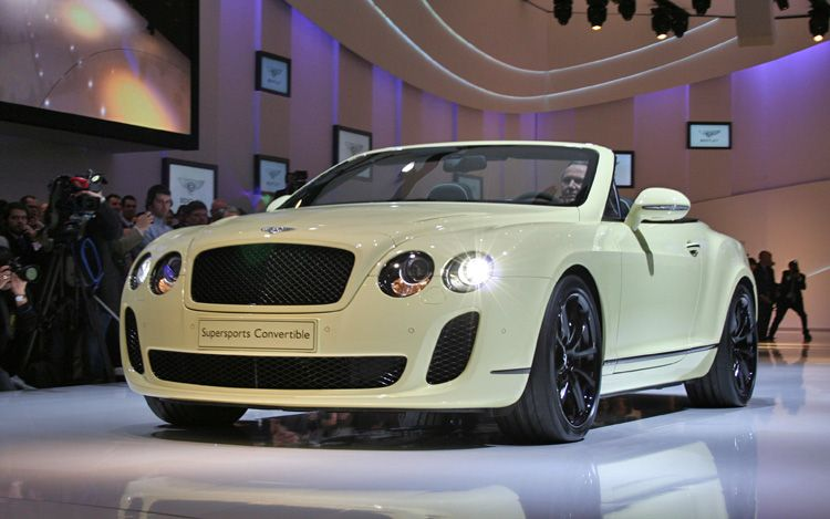 2011 Bentley Supersports Convertible Awesome Car