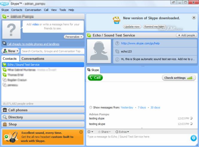Earlier Versions Of Skype