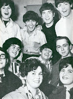 Here is Valerie and the other competition winners at that memorable meeting with the Beatles at the Gaumont, Wolverhampton, on Tuesday, November 19th, 1963. Valerie is on Ringo's left.