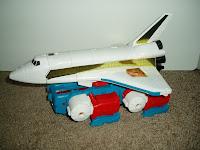 Sky Lynx as Space Shuttle