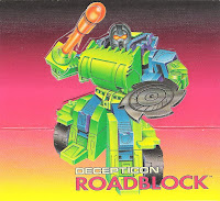Roadblock character art
