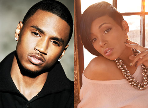 trey songz girlfriend 2011. wallpaper Trey Songz and his