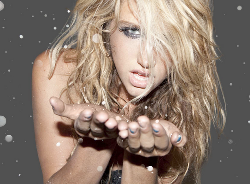 kesha disgusting cover. Hit techno pop singer Ke$ha