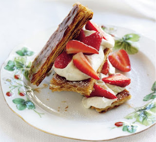 Wimbledon Snacks - Strawberries and Cream