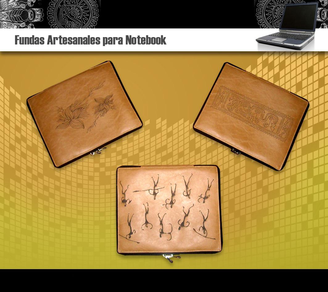Fundas artesanales para notebook rusticass fundas para for Fundas notebook