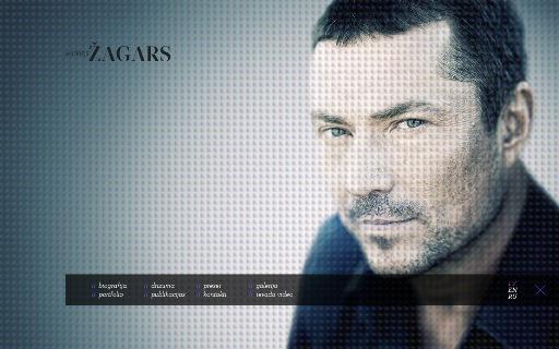 CV, Portfolio, Cube, Flash, Andrejs Žagars