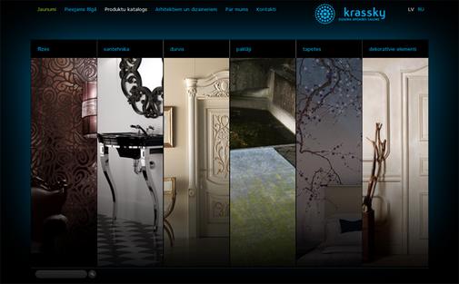CSS, Katalogs, Krassky