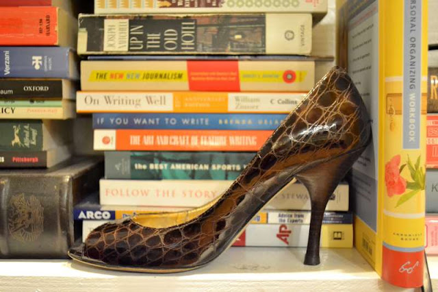 office fashion blogger brown enzo angiolini peep toe maylie pumps heels shoes