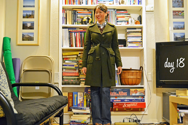 office fashion blogger angeline evans the new professional kenneth cole reaction coat old navy jeans nina pumps