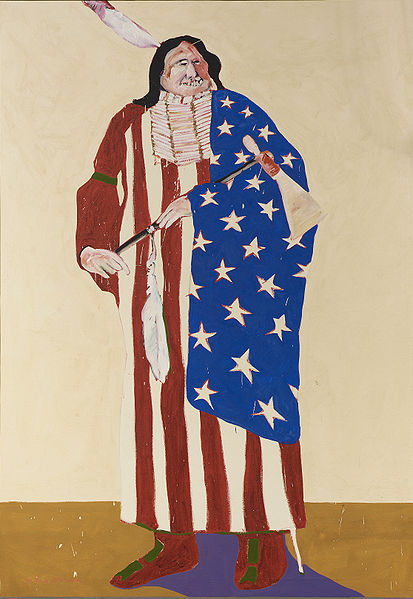 """The American Indian* by Fritz Scholder"