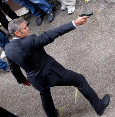 The American, George Clooney, moda masculina, cine, Ermenegildo Zegna,