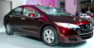 Водородомобиль Honda FCX Clarity