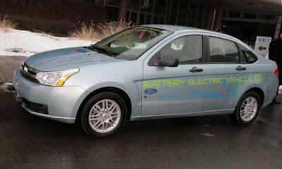 Ford Focus Electric в Америке