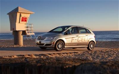 Продажи Mercedes Benz B-Class_F-Cell